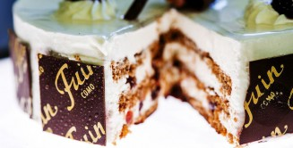 Pasticceria fuin torta fetta
